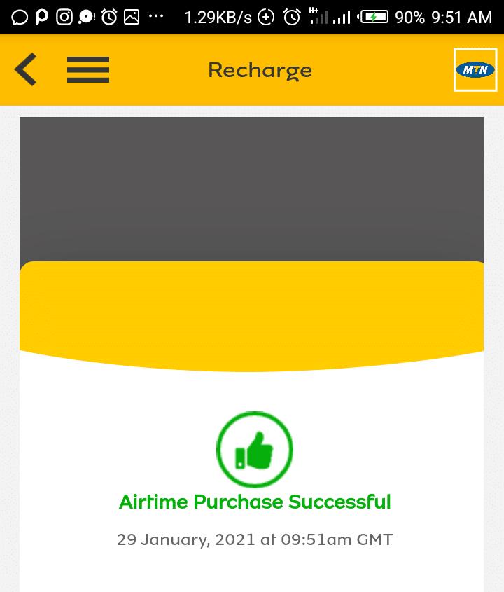 Mtn 10% airtime bonus