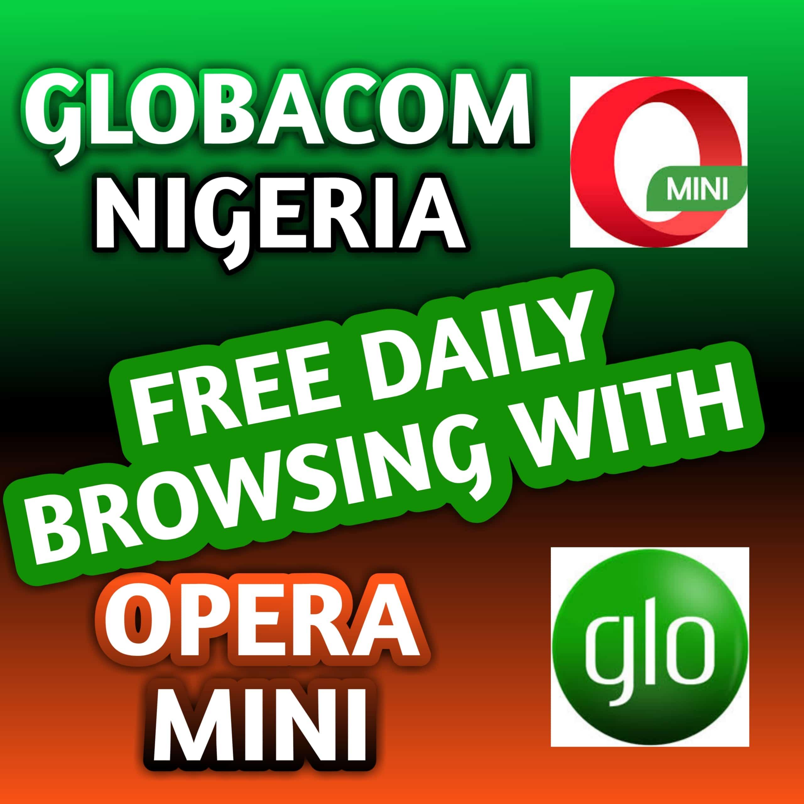 Glo opera free browsing