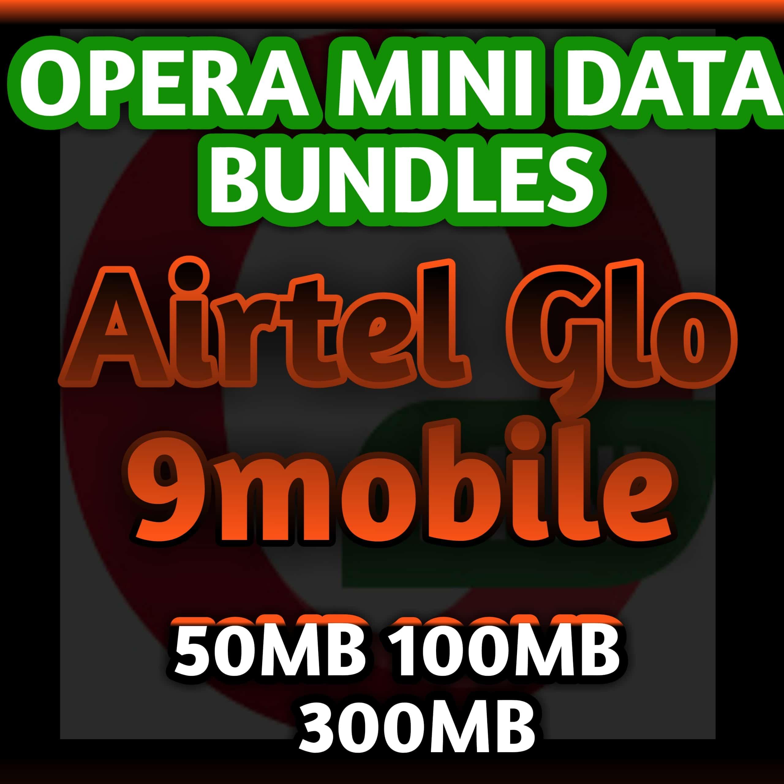 Opera data bundles