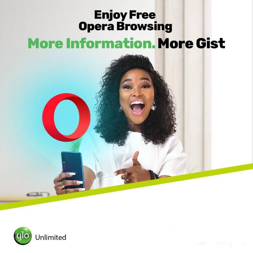 Opera glo free browsing