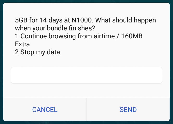 Airtel 5GB for 1000